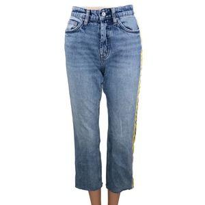 Zara Authentic Denim TRF High-waist Ankle Jeans